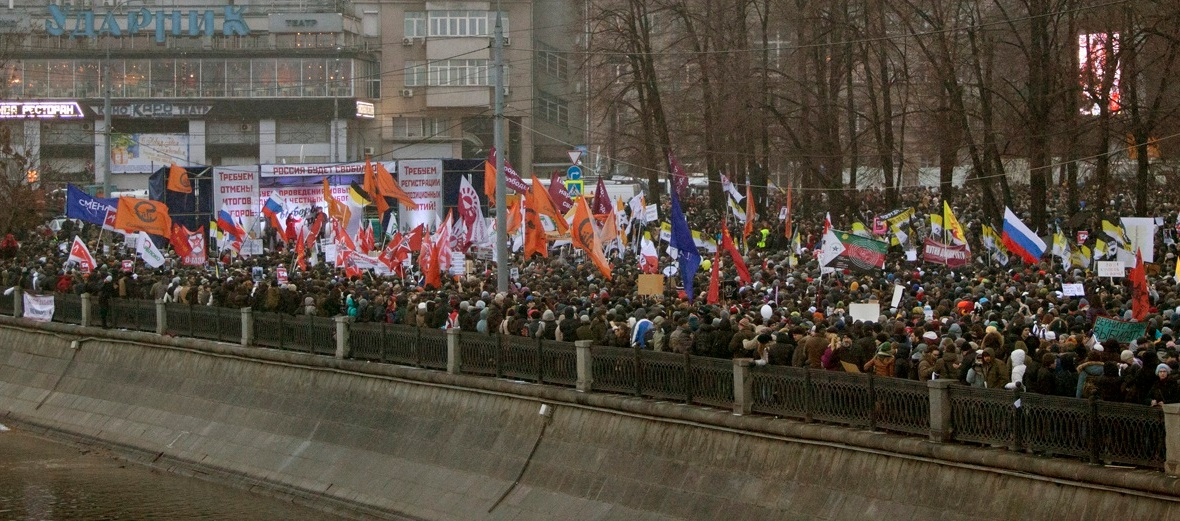 Protests against electoral manipulation in Moscow, 2011
